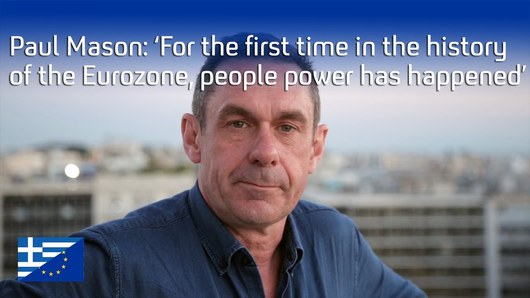 Paul Mason Take back our world