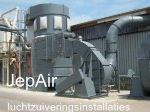 Jep-Air luchtzuiveringsinstallaties