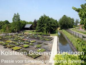 Kolsteren Groenvoorzieningen Kwekerij, Zorgboerderij Passie voor tuinaanleg en natuurlijk tuinieren (permacultuur)
